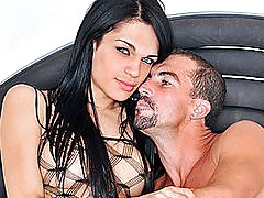 Fishnet Loving Tranny Alice Rodrigues HD