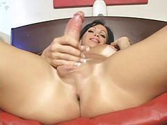 Horny tranny in her hardcore ass fucking