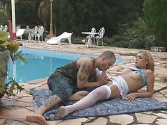 Alexia&Tony awesome shemale movie