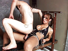 Naughty Paola Lima Having Fun With Her Slave