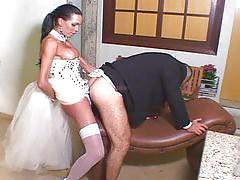 Marcela fucks her fiance