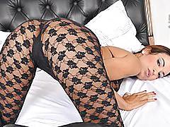 Sexy Latina Banged By Big Dick Shemale HD