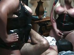 Voluptuous TS Girl fucking a dildo