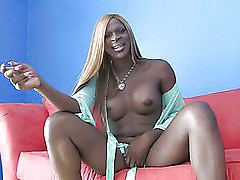 big tit black shemale posing her hot body