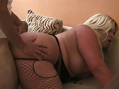 Fat tranny Monica Richard gets butt fucked