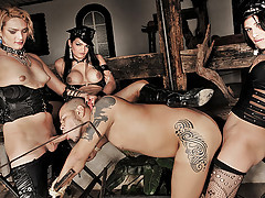 Kinky shemale domination sex action